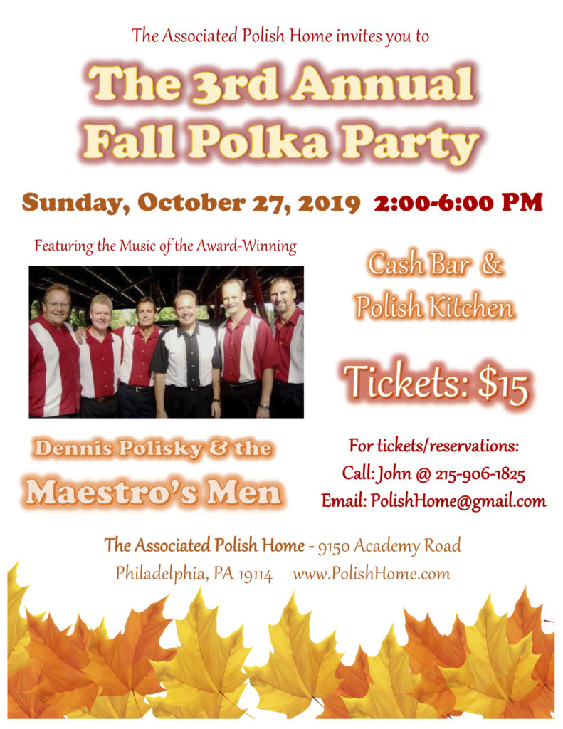 The 3rd Annual Fall Polka Party