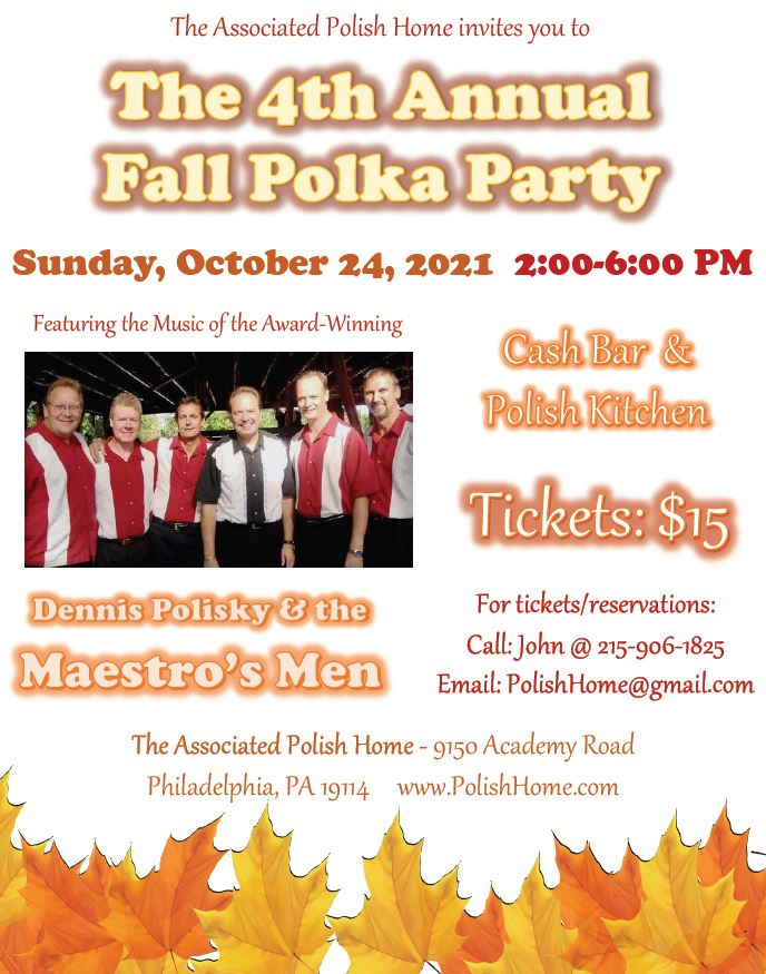 The 4th Annual Fall Polka Party