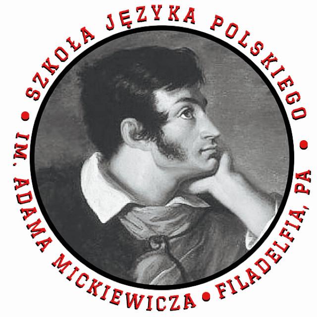 Adam Mickiewicz Polish School Logo